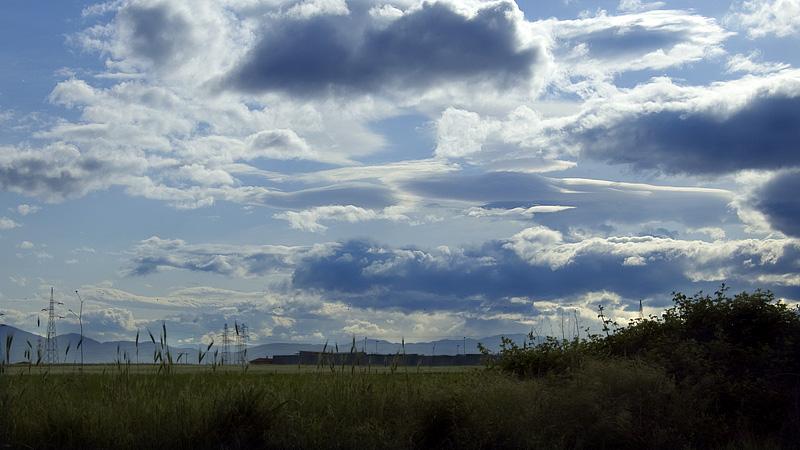 Foto di nuvole e cielo sopra la Tiburtina, Rom