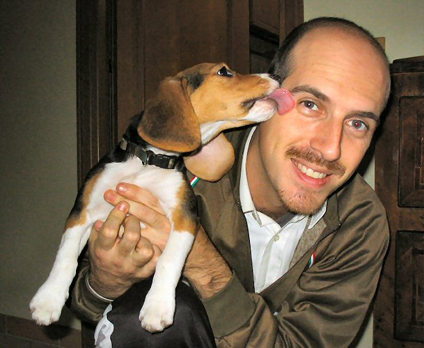 Diana, il nostro primo cane di razza Beagle