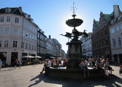 fontana di Copenhagen