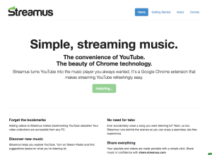 Streaming YouTube music