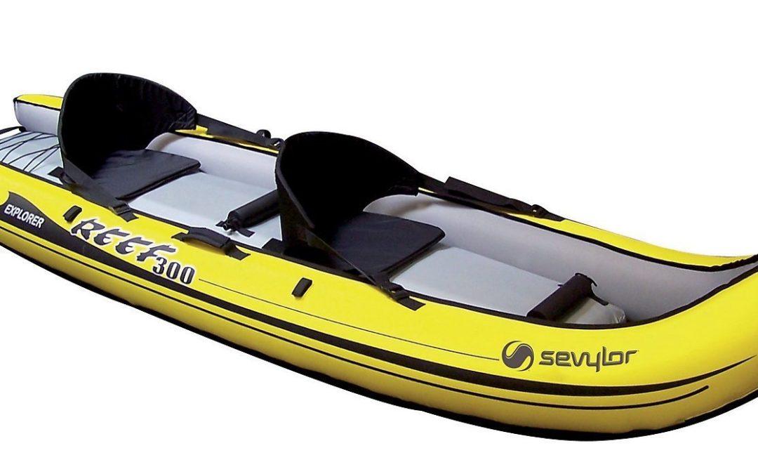 Canoa gonfiabile Sevylor reef 300 per 1 o 2 persone