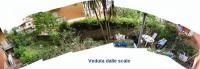 foto panoramica del giardino... appena acquistato l'appartamento a Roma