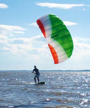 Iniziare con il KiteSurf comprando un Trainer kite (aquilone da trazione)